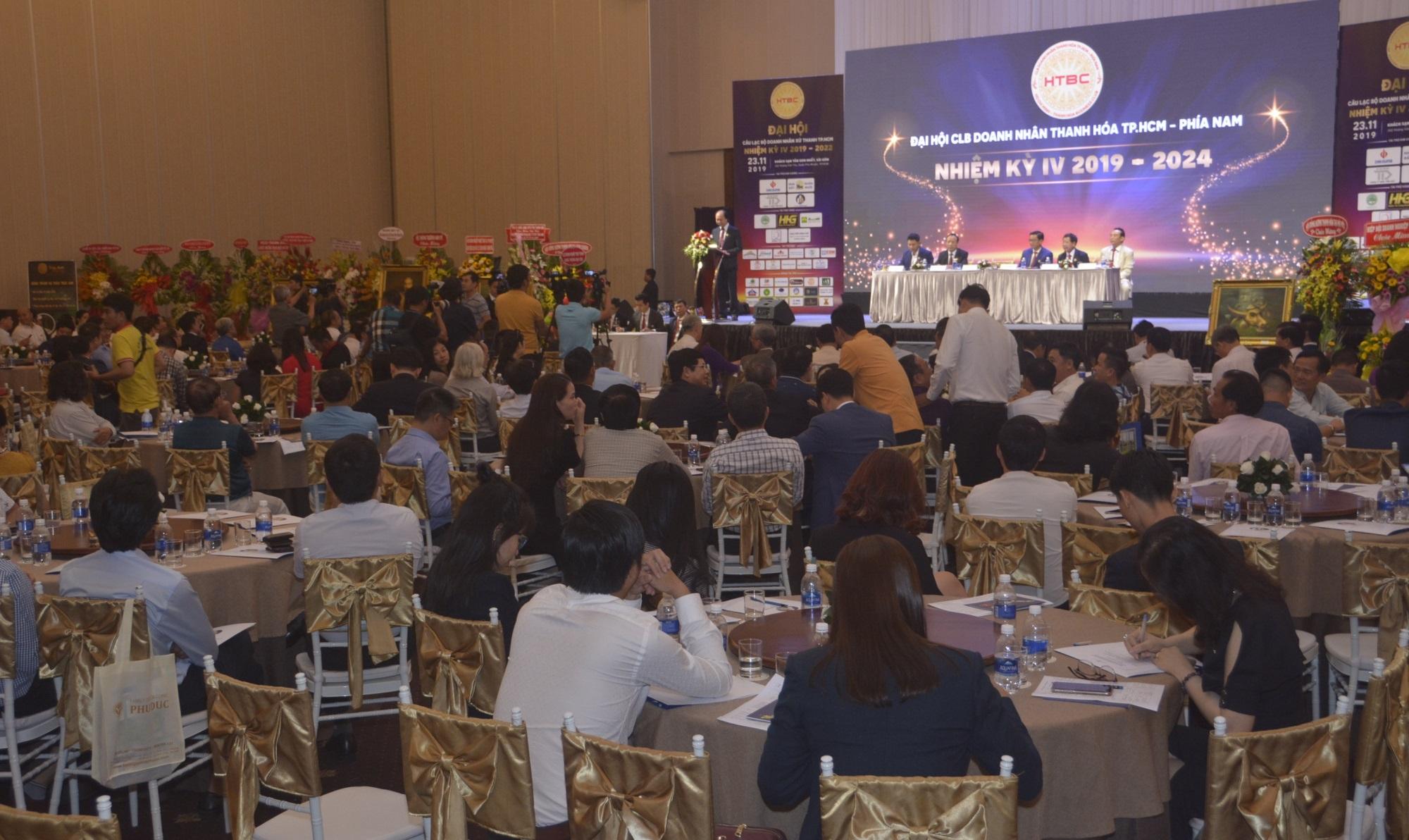 Câu lạc bộ Doanh nhân Thanh Hoá tại TP.HCM kỷ niệm 10 năm thành lập và ra mắt Ban chấp hành mới - Ảnh 1