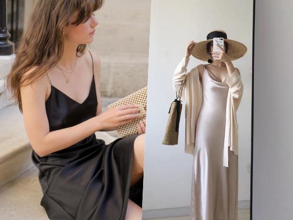 Trend mới của mùa hè gọi tên váy lụa hai dây, phái đẹp cứ diện là trở thành quý cô Pháp quyến rũ, đẳng cấp ngút ngàn