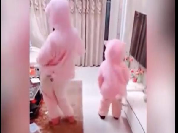 Quyết giấu mặt sau bộ đồ gấu bông, loạt em bé vẫn khiến dân mạng mê mẩn vì quá đáng yêu