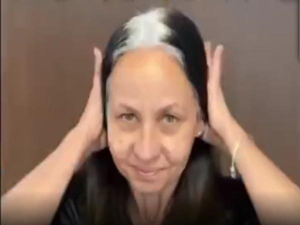 Ngỡ ngàng cảnh cụ bà tóc bạc phơ bỗng hóa thành 'thiếu nữ' trẻ trung chỉ nhờ thay màu tóc
