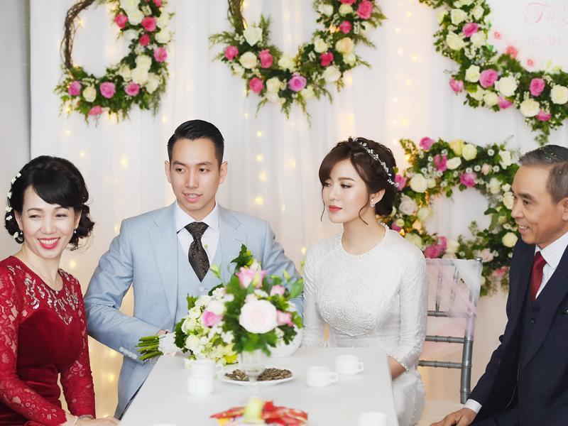 Chuyện cưới không chỉ là chuyện riêng của hai người mà là chuyện vui của cả họ tộc