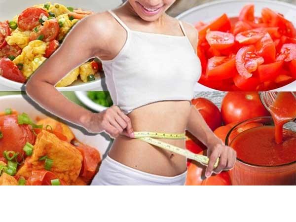 Bạn có biết cách giảm cân với cà chua an toàn và hiệu quả cao?