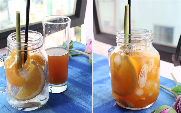 Bật mí cách làm trà đào cam sả thơm ngon mát lạnh hơn cả hàng quán