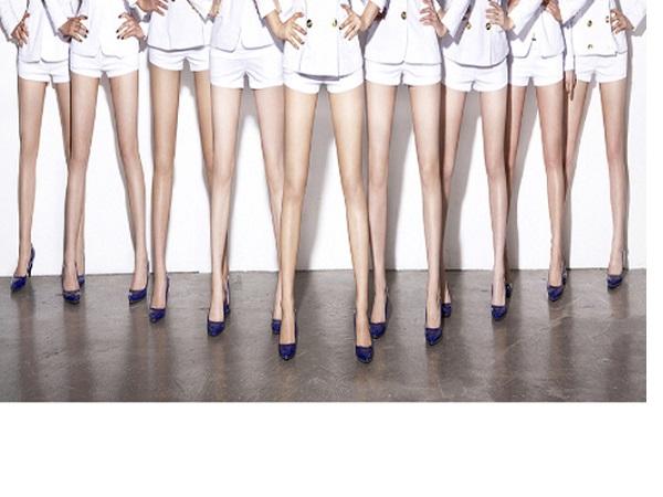 Bí quyết chân thon của sao Hàn chị em nên học hỏi