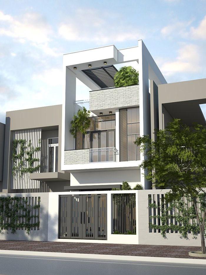 Kiến trúc ngôi nhà có vẻ đẹp bắt mắt và rất sang trọng