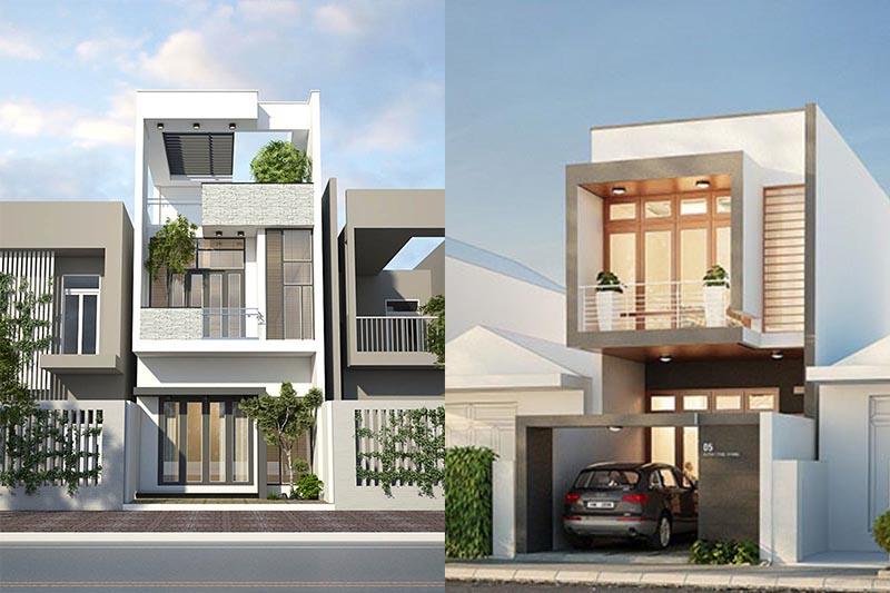 Thiết kế đảm bảo giúp cho ngôi nhà thoát khỏi sự chật hẹp, oi bức