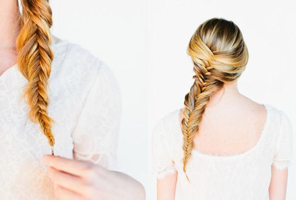 2 cách tự tết tóc xương cá cực đẹp giúp nàng thêm duyên dáng - Ảnh 9