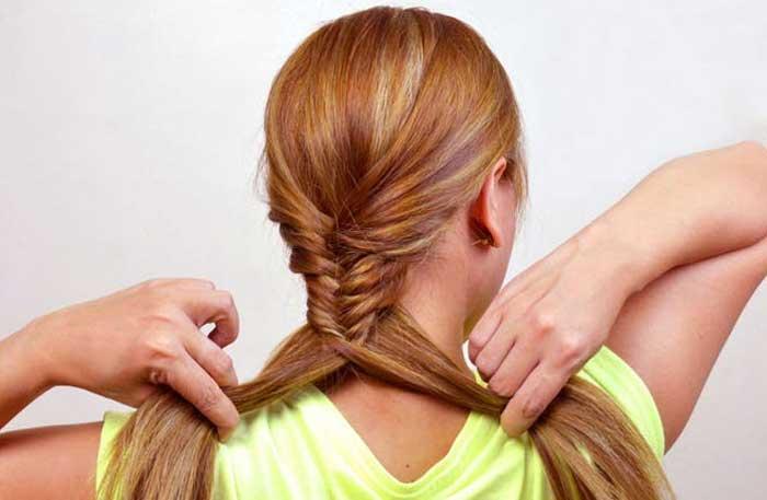 2 cách tự tết tóc xương cá cực đẹp giúp nàng thêm duyên dáng - Ảnh 5