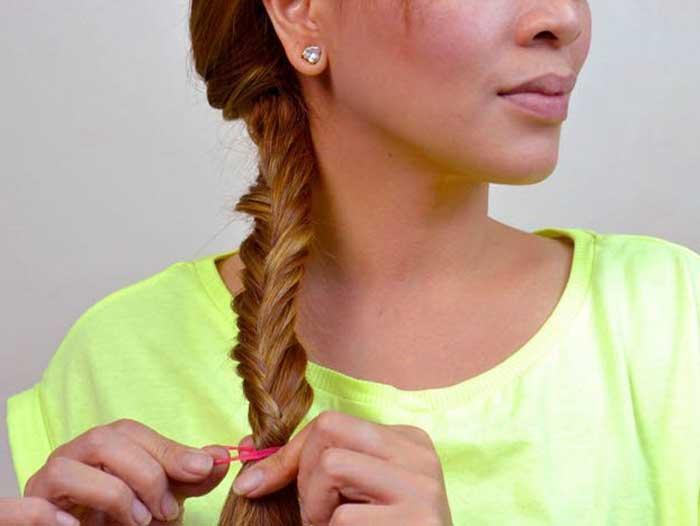 2 cách tự tết tóc xương cá cực đẹp giúp nàng thêm duyên dáng - Ảnh 6