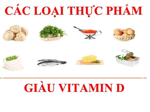 Các loại thực phẩm chứa Vitamin D bà mẹ và trẻ sơ sinh nên bổ sung