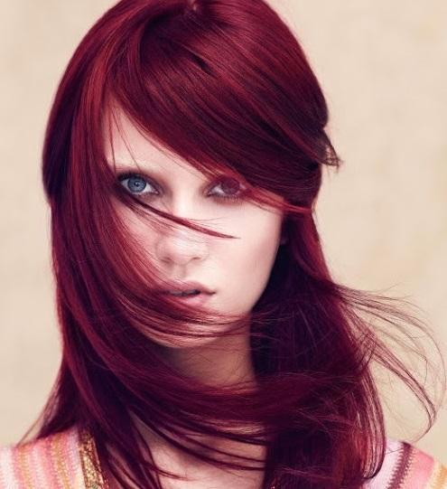"""Nâu đỏ ánh tím là màu nhuộm rất """"hot"""" được giới trẻ yêu thích và là xu hướng thời trang của thế giới"""