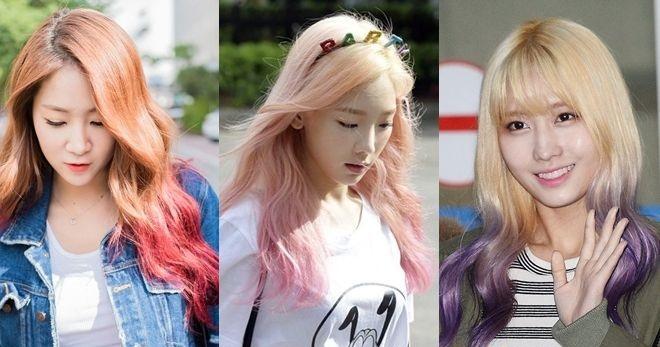 Tóc ombre bắt nguồn từ những ngôi sao nổi tiếng Hollywood và được các sao thi nhau biến hóa cùng với mái tóc của mình