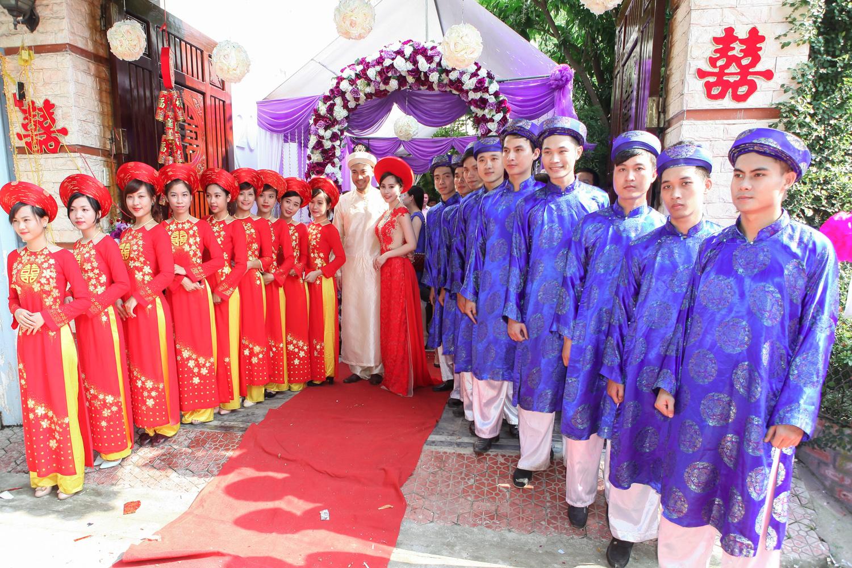 Đám hỏi là nghi lễ thiêng liêng trong phong tục hôn nhân của người Việt