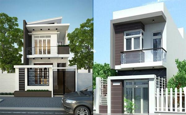 Mẫu nhà đẹp 2 tầng phù hợp phù hợp với sự phát triển của thời đại đồng thời thể hiện đẳng cấp cũng như khiếu thẩm mỹ của bản thân
