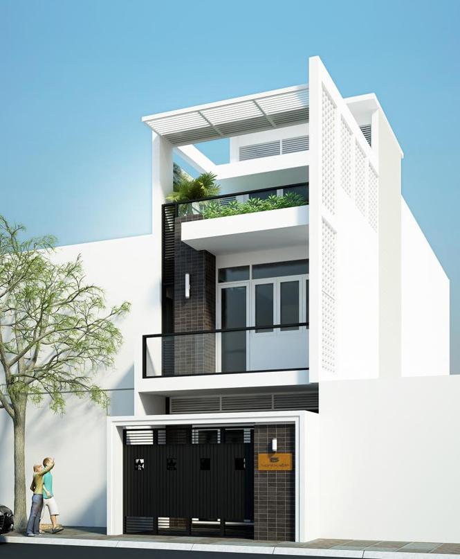 Ngôi nhà có thiết kế phù hợp với sự phát triển của thời đại