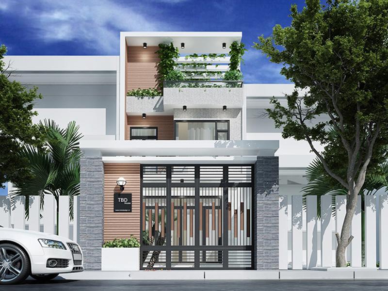 Căn nhà được thiết kế thoáng mát và gần gũi