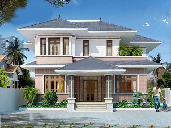 Mẫu nhà 2 tầng là thiết kế đang được rất nhiều gia đình ưa chuộng