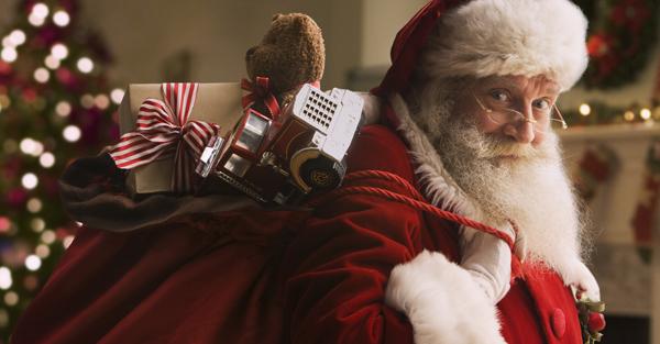 Bức thư ông già Noel gửi các bé nhiều cảm xúc