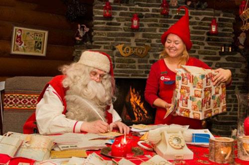 Lá thư ông già Noel gửi các bé hay