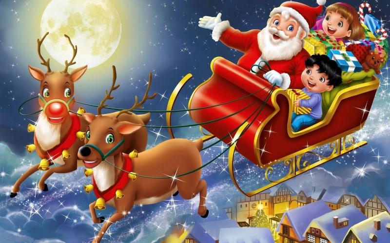 Ông già Noel không khác gì mấy so với ông Bụt bà tiên từ các câu chuyện cổ tích