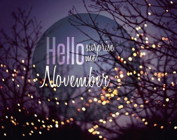 Lời chúc đầu tháng 11 hay và ý nghĩa