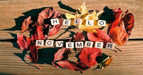 Lời chúc đầu tháng 11 dành cho người yêu