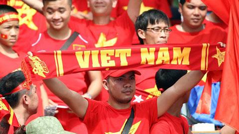 Những câu cổ vũ hay chắp cánh cho đội tuyển Việt Nam bay cao