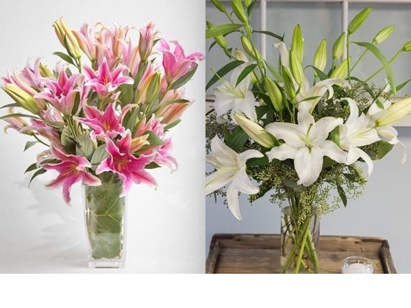 Học cách cắm hoa huệ ngày Tết đúng chuẩn