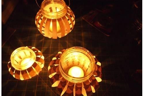 Hướng dẫn cách làm lồng đèn trung thu bằng giấy cho con chơi - Ảnh 5