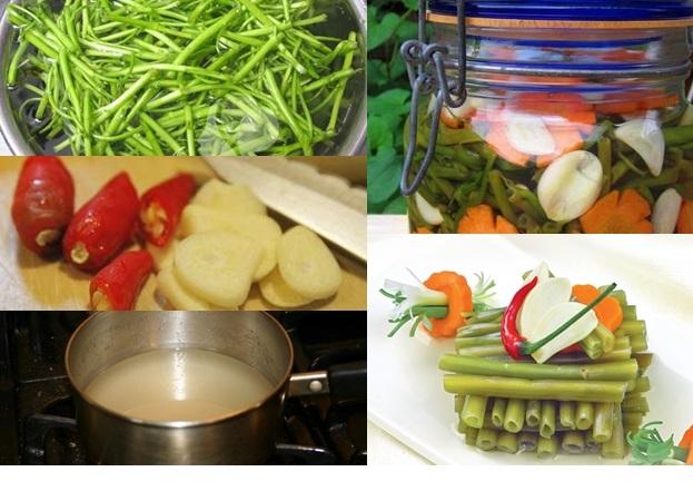 Hướng dẫn cách làm rau muống muối chua giòn ngon, đậm vị nhất