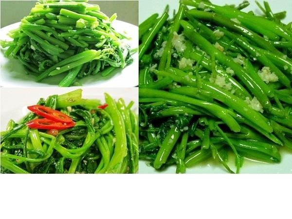 Hướng dẫn cách làm rau muống xào tỏi tươi xanh, ngon giòn và hấp dẫn nhất