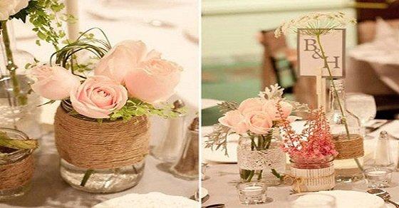 Cách cắm hoa cưới để bàn đẹp tự nhiên thêm ấn tượng trong ngày đặc biệt - Ảnh 5