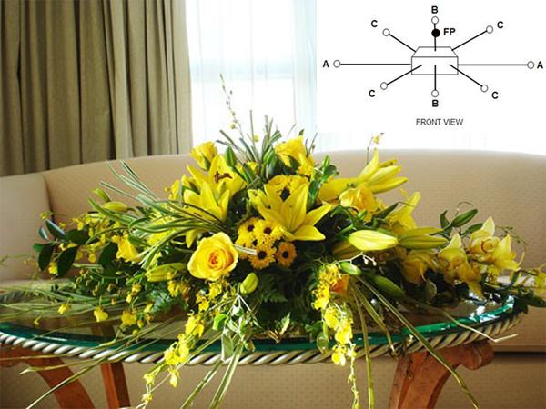 Cách cắm hoa cưới để bàn đẹp tự nhiên thêm ấn tượng trong ngày đặc biệt - Ảnh 8