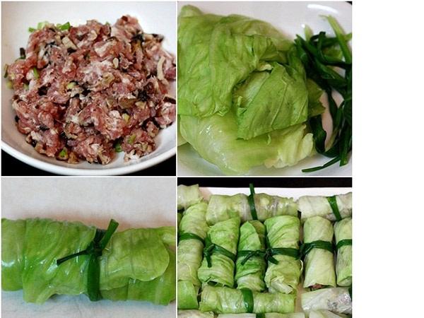 Mách bạn cách làm bắp cải cuộn thịt hấp vừa ngon ngọt, lạ miệng vừa đẹp mắt