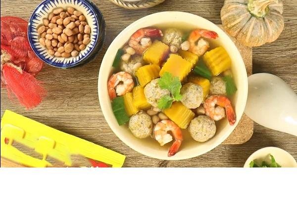 Ngon miệng, đưa cơm với 2 cách làm bí đỏ nấu tôm đơn giản, dễ làm