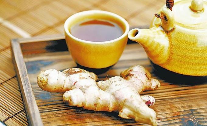 Kết hợp uống một tách trà gừng giúp giảm cơn đau đầu nhanh chóng