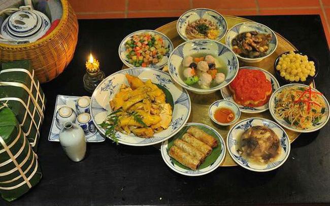 Món ăn may mắn ngày Tết được đặc biệt chú trọng và lựa chọn kỹ càng