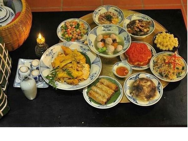 Những món ăn mang lại may mắn ngày đầu năm mới
