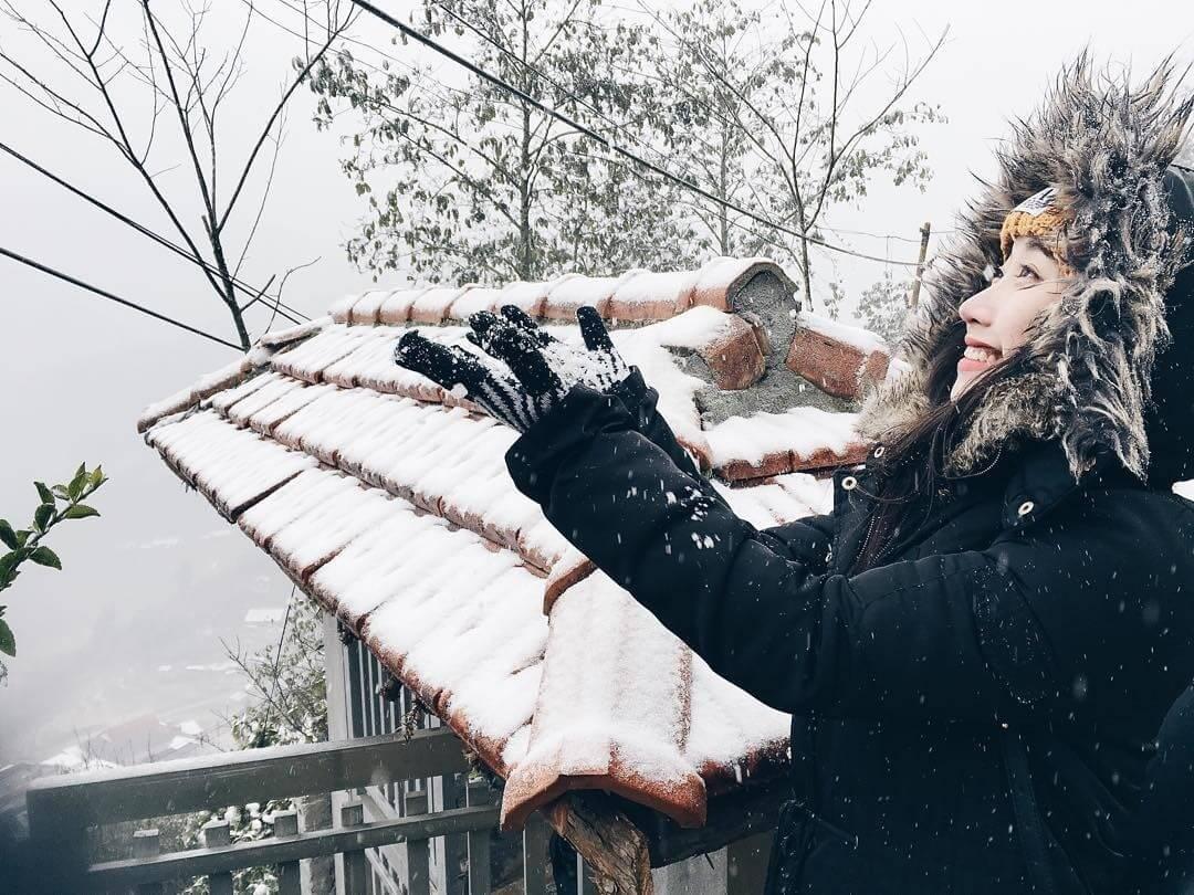 Tết Tây là thời gian đẹp để du lịch Sapa cảm nhận cái lạnh mùa đông