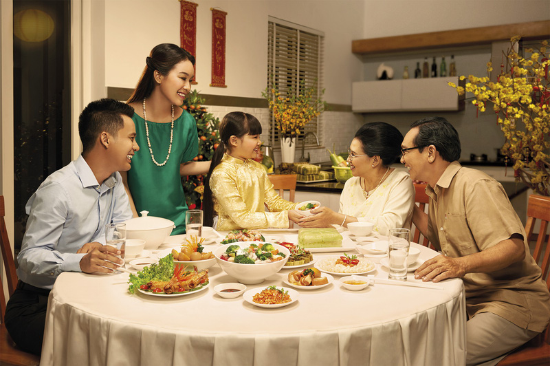Chú ý có cách ăn uống đảm bảo sức khỏe cho kỳ nghỉ cả trước và sau Tết
