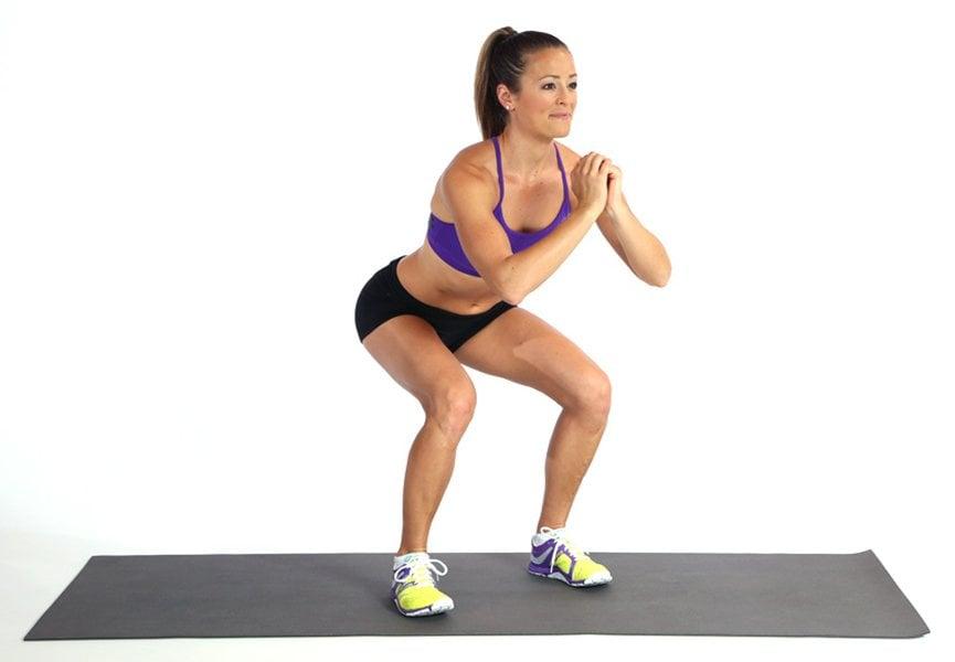 Động tác Bodyweight squat