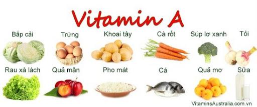 thuc pham chua vitamin A ảnh 9