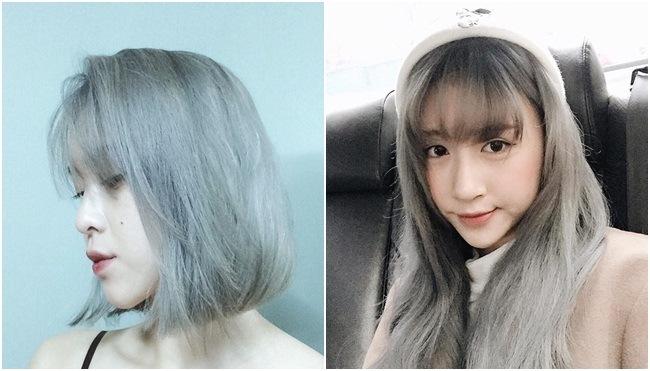 Tổng hợp các kiểu nhuộm tóc màu xanh rêu theo xu hướng 2018 đẹp nhất cho nữ - Ảnh 10