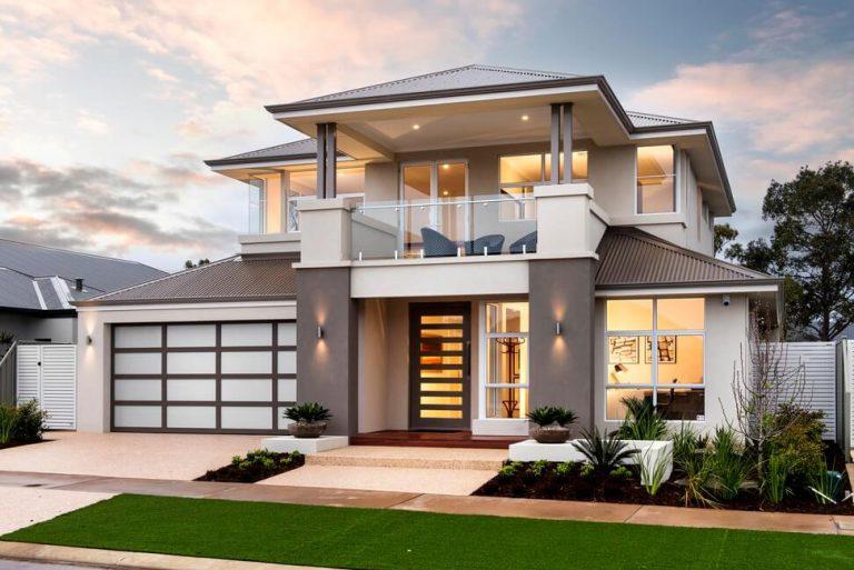 Hiện nay, thiết kế nhà 2 tầng mái thái thường có sự kết hợp pha trộn giữa cổ điển và hiện đại