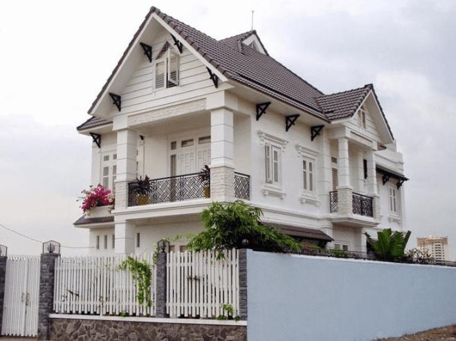 Có nhiều mẫu nhà 2 tầng mái thái đẹp với phong cách thiết kế khác nhau