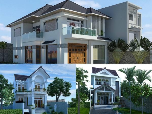 Nhà 2 tầng mái thái là thiết kế được ưa chuộng tại hầu hết các gia đình từ nông thôn đến thành thị