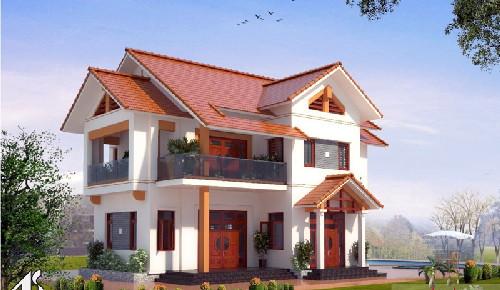 Các mẫu nhà đẹp 2 tầng mái thái  là công trình kiến trúc mang đậm nét hoài cổ, đậm chất truyền thống