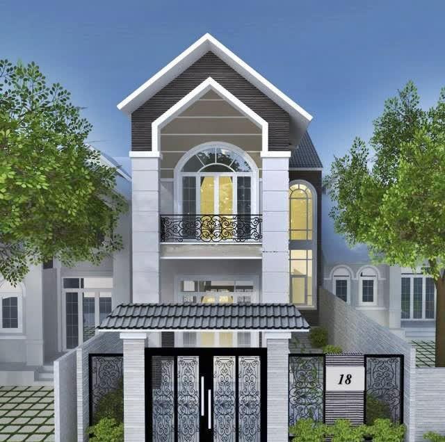Phần thiết kế mái thái cách tân sẽ giúp tổng thể ngôi nhà đẹp và cao hơn
