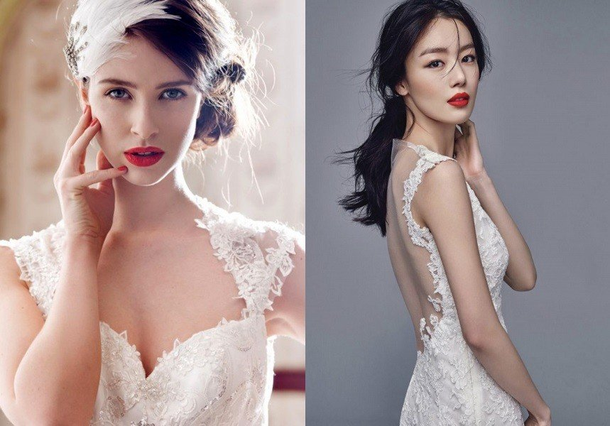 Top 6 phong cách trang điểm cô dâu 2018 cực xinh đẹp và lộng lẫy