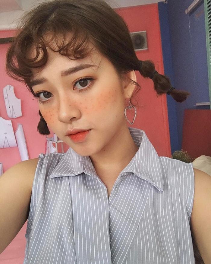 Cach lam cac kieu toc don gian de thuong nhu Idol Han Quoc 6